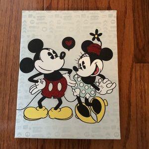 Mickey & Minnie Canvas Print
